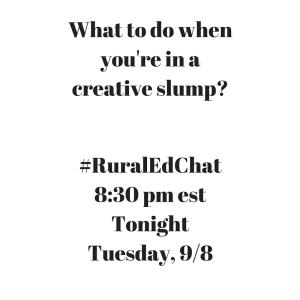 Creative RuralEdChat